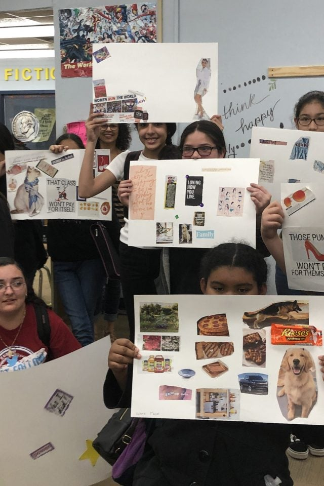 IMG 2696 e1554334785778 640x960 - Empowered Fem Teens: Vision Board Party at Martin MS