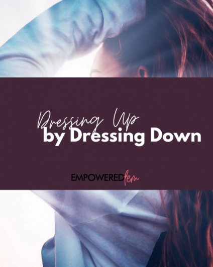 Dressing Up by Dressing Down 2 880 x 660 424x530 - Dressing Up While Dressing Down