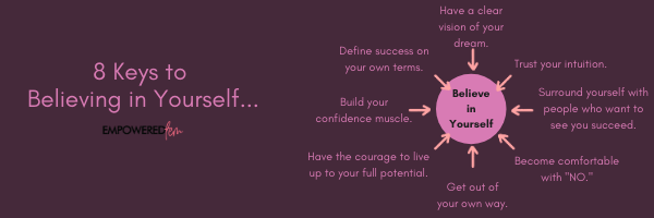 8 Keys to Believing In Yourself - 8 Keys to Believing in Yourself