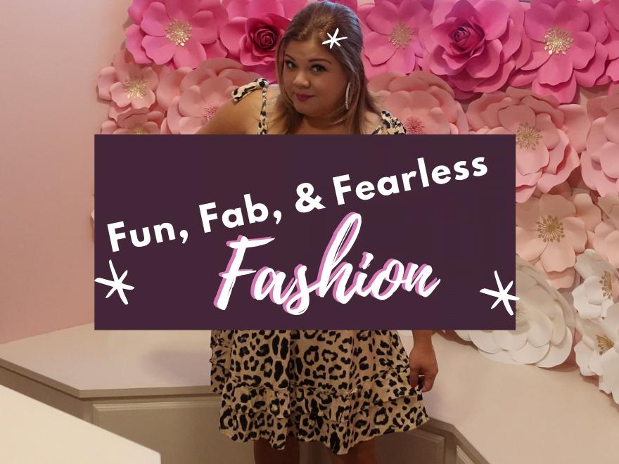 Fun Fab Fearless Fashion Cover - Fun, Fab, and Fearless Fashion
