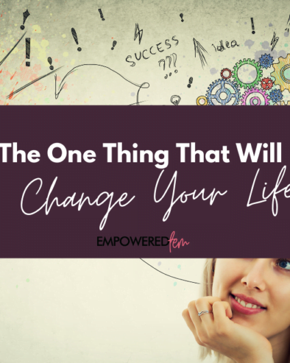The One Thing Cover 880 x 660 424x530 - The One Thing That Will Change Your Life: Positive Thinking