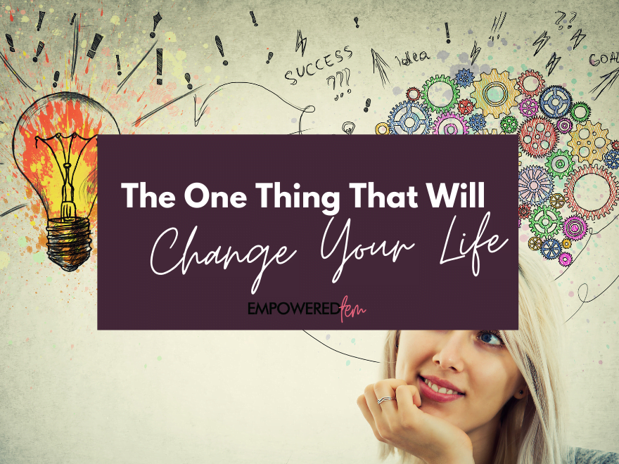 The One Thing Cover 880 x 660 - The One Thing That Will Change Your Life: Positive Thinking