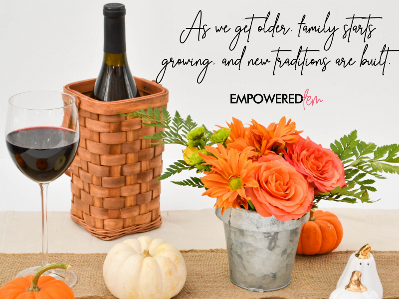 new traditions - A Very Basaldu Thanksgiving