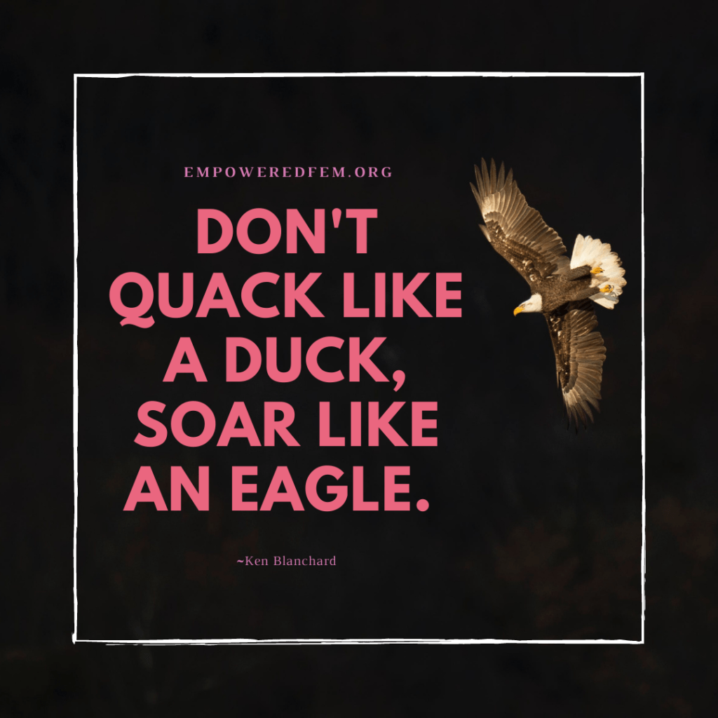 Dont Quack like a Duck 1024x1024 - How to Raise Your Wings