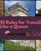 Ten Rules for Traveling Like a Queen Cover 80x100 - 10 Rules for Traveling Like a Queen